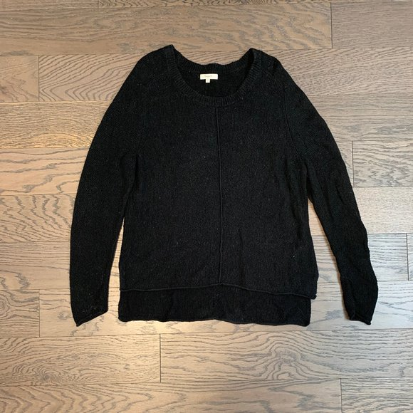 Madewell Knit Sweater in Black
